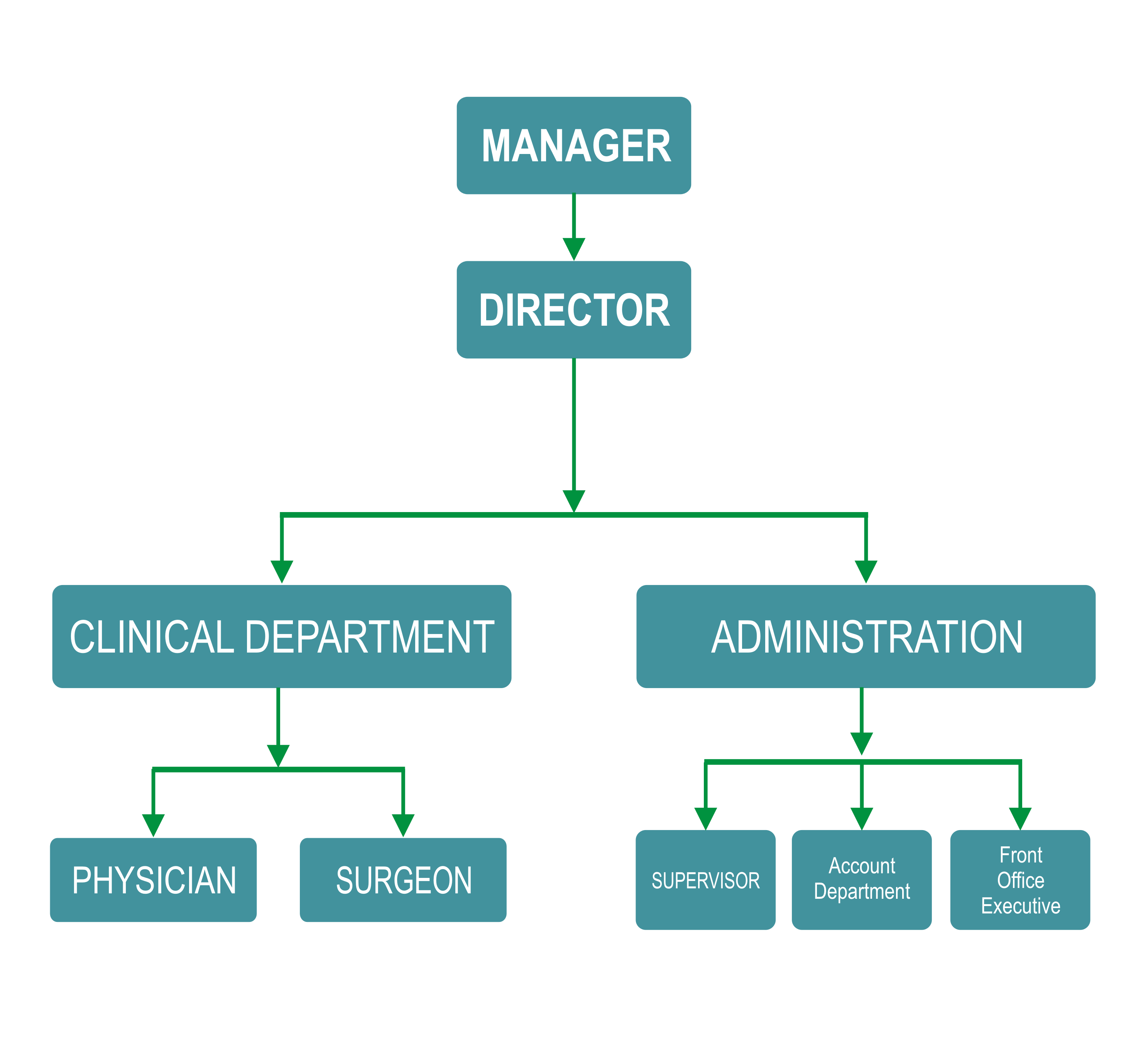 Suman Hospital Sultanpur Surgical Laparoscopic Research Center – Hospital Organizational Chart